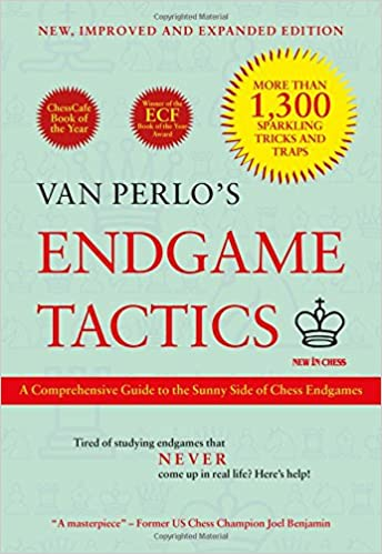 Van Perlo's Endgame Tactics book cover